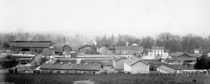Les forges au début du 20ème siècle.