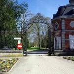 Entrée du château à Eurville