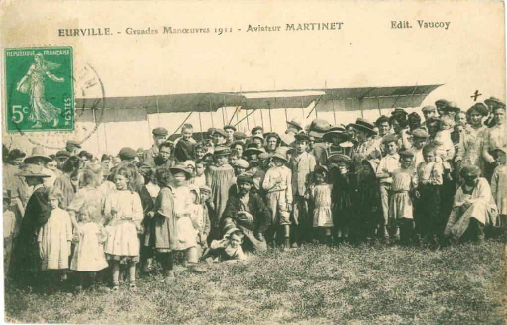 Avion Eurville - Regards sur le passé