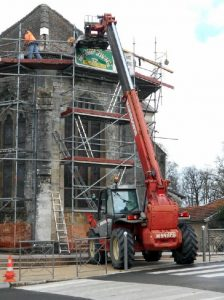 Réfection de la toiture de l'église Sainte-Menehould