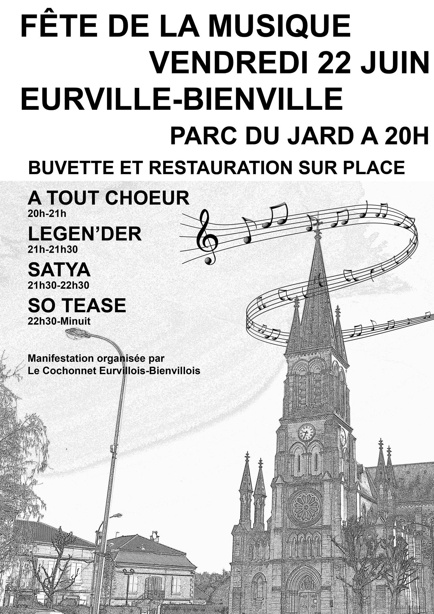 Fête de la musique Eurville-Bienville