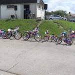 Concours de vélos décorés