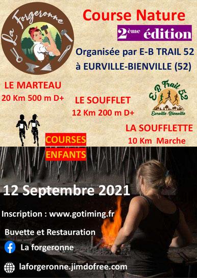 La Forgeronne 2021 - Course nature
